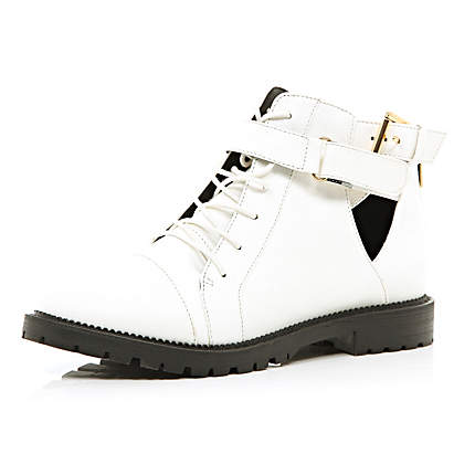 River Island Buckle Boots