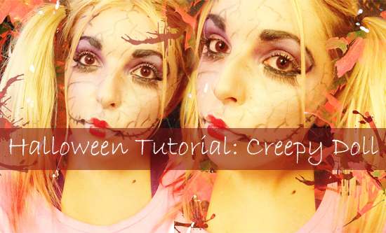 Halloween Tutorial | Creepy Doll