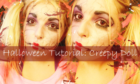 halloween tutorial creepy doll polished couture