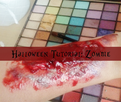DIY zombie skin polished couture
