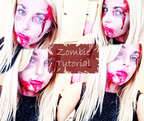 Halloween Tutorial | Zombie