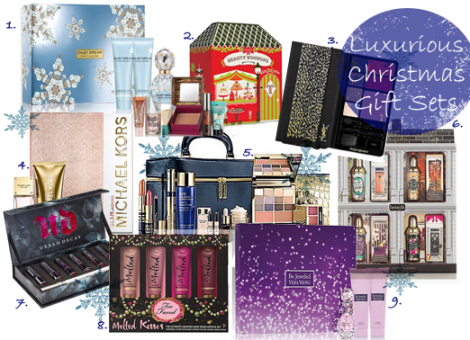 Luxurious christmas gift sets polished couture