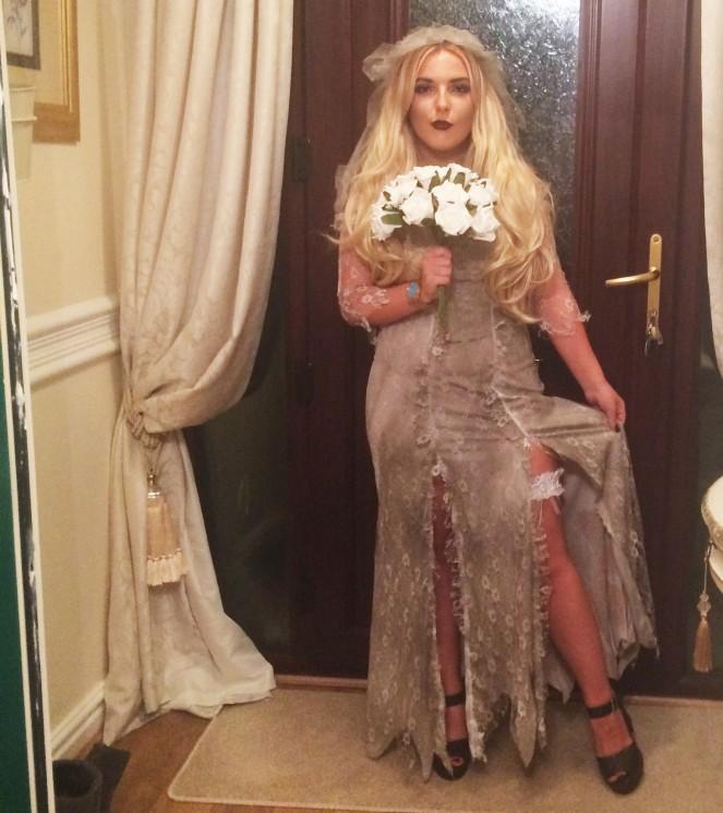 Halloween Dead Bride| OOTD