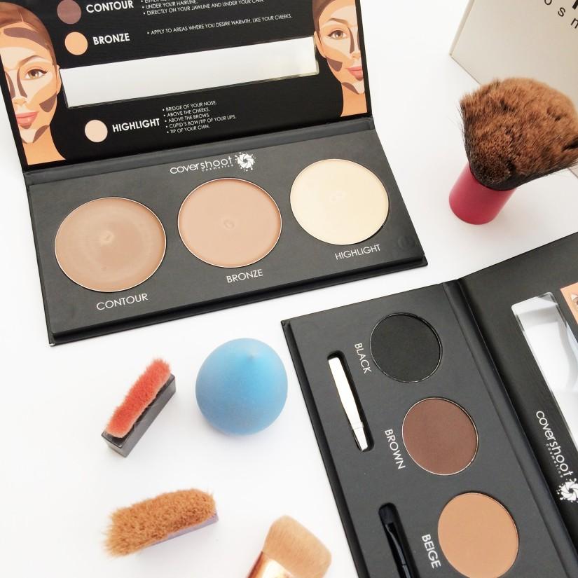 Covershoot Cosmetics   Contour & Brow Kits